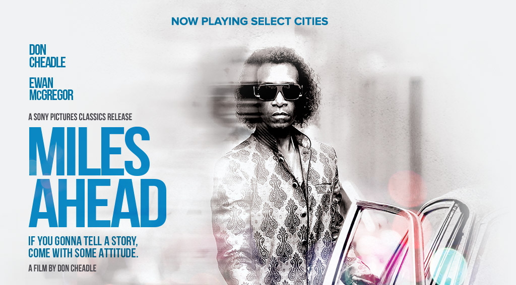 miles ahead cartaz